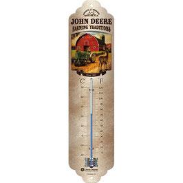 Termòmetre // Termómetro.  JOHN DEERE. Vintage