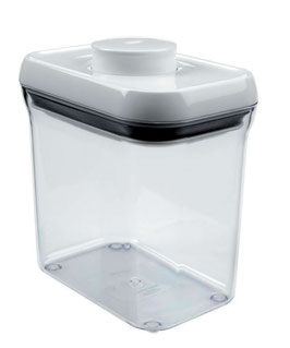 POP Container OXO. Rectangular. 1'4 litres.