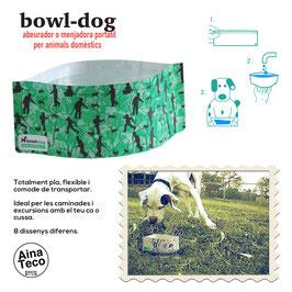 BOWL-DOG mod.Camouflage. ABEURADOR // BEBEDERO.
