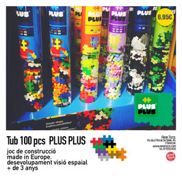 Plus-Plus mini.   Tub 100 pcs.