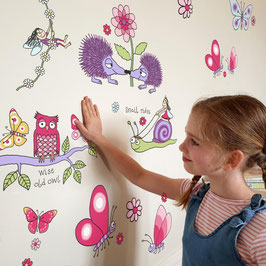Adhesius Paret. Wall Stickers. Secret Garden by TyrrellKatz.