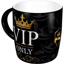 Taça mug. VIP ONLY. 330 ml.  Nostalgic-Art