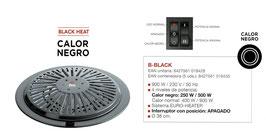 Braser elèctric B-Black. Calor Negre. Marca FM.