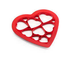 Cookie Cutter Hearts by Lékué