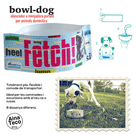 BOWL-DOG mod.FETCH!. ABEURADOR // BEBEDERO.