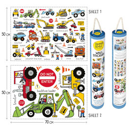 Adhesius Paret. Wall Stickers. Trucks by TyrrellKatz.