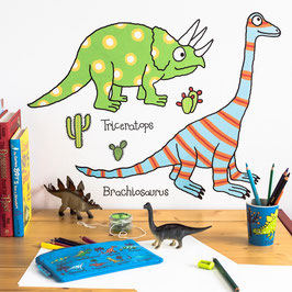 Adhesius Paret. Wall Stickers. Dinosaur by TyrrellKatz.
