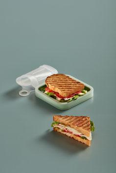 Funda reutilitzable per sandvitx. Lékué
