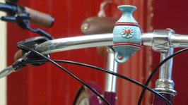 Die Fahrradvase, Modell Nr. 5,  'himmelblau'