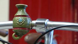 Die Fahrradvase, Modell Nr. 3 grün