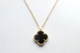 CLOVER Onyx Necklace