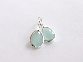 NEW: SINGLE DROP Silver Aqua