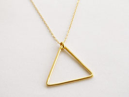BIG TRIANGLE Necklace