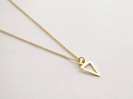 SHARP TRIANGLE EMPTY Necklace