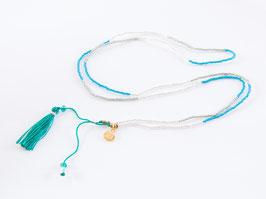 BOHO Necklace Ocean Blue