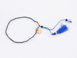 BOHO Bracelet Blue & Gold