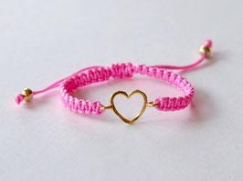 HEART KIDS Bracelet Pink