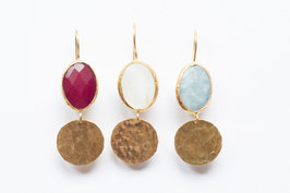 STONE & COIN Rote Jade