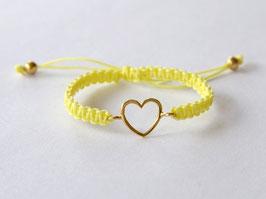 HEART KIDS Bracelet Yellow