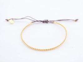 KARMA BANGLE TWISTED Anthrazit