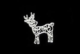 Hirsch mit Ornamenten