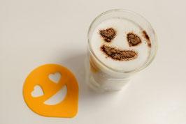 Cappuccino-Schablonen (4er-Set)