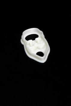 3D Ausstecher Weihnachtsmann Kopf