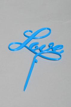 """Blumen-Stecker """"Love"""""""
