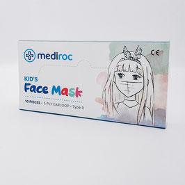 mediroc Kindermasken (3 lagig) - TYPE II -CHF 0.42 / Stück