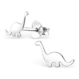 925 Silber Dinosaurier Ohrringe