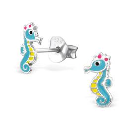 925 Silber Seepferdchen Ohrringe
