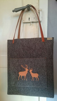 Damenhandtasche - Shopper