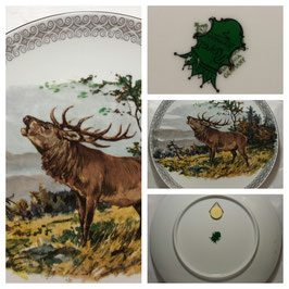 Декоративная тарелка 002