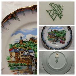 Декоративная тарелка 001