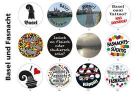 Buttons Basel und Fasnacht