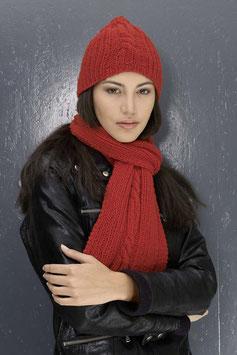 Schal und Mütze