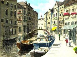 運河の街Ⅱ