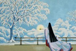 夢語り 雪明り