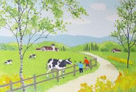 D1-17 春の牧場