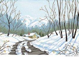 D1-01 雪解けの道