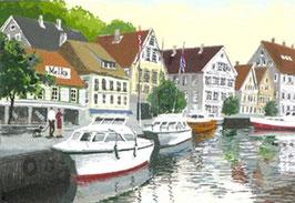ベルゲンの港
