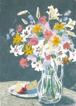 B1-04 花とりんご