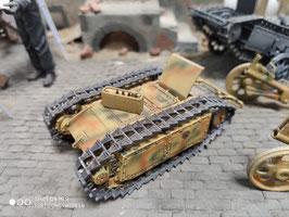 Goliath Panzer mit Anhänger