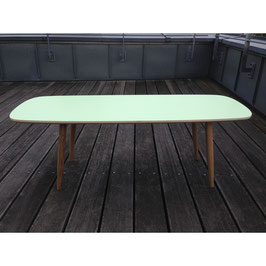 Surfboard Coffee Table pastell-grün