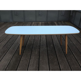 Surfboard Coffee Table hellblau