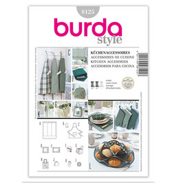 """Patron de couture Burda 8125"""" Accessoires cuisine"""""""
