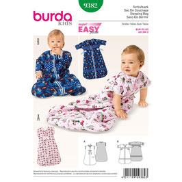 Patron sac de couchage bébé BURDA 9382