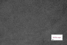 "Tissu éponge Bambou certifié OEKO-TEX® ""ANTHRACITE"""