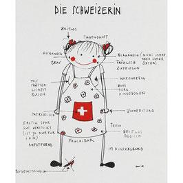 Küchentuch, die Schweizerin