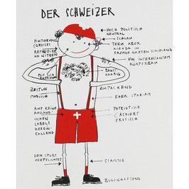 Küchentuch, der Schweizer